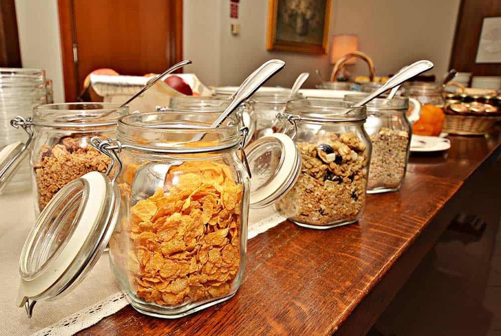 Aosta Hotel colazione